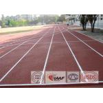 All Weather Standard Rubber Running Track Material With Spike Resistant Surfaces for sale