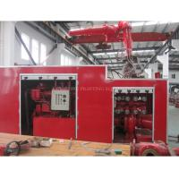 China CCS Approved 1200m3 Marine External fire fighting system supplier