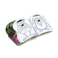 Coloring And Sticker Softcover Book Printing Create Your Own Coloring Book for sale