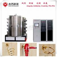 PVD Chrome Vacuum Metallization Equipment / Vacuum Metallizing Machine For Hair Dryer Holder for sale