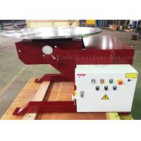 2T Rotory And Tiltling Welding Positioner With Foot Pedal And Hand Box for sale