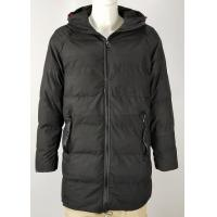MEN'S  PARKA WITH FIX HOODY,Black and Navy for sale