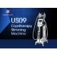 4 Handles 1000w Cryolipolysis Slimming Machine / 1-15J Vacuum Slimming Machine for sale