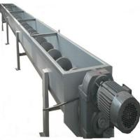 Stainless Steel Screw Conveyor System Screw Silo Hoppers Large Capacity