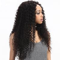8'' Kinky Curl Middle Part 100% Brazilian Virgin Hair Lace Closure For Ladys for sale