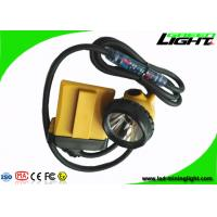 China Flashing Light Led Mining Lamp Corded Cable Underground Coal Mining Cap Lamps 25000lux supplier