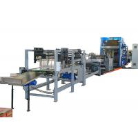 China Valve Sheet Pasting and Auto-Gluing Bottomer Machine with Big S Unit for sale