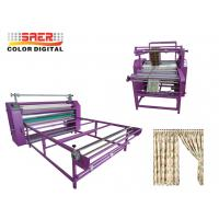 China Rotary calander heat press machine Oil Heating Transfer machine many size available for sale