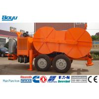 China 1x160 KN Hydraulic Cable Tensioner Four-bundle Conductor TY1x160 Cummis Engine Hydraulic Tensioner for sale
