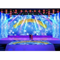 China High Resolution Indoor Rental LED Display Led Screen With 250mm×250mm Module supplier