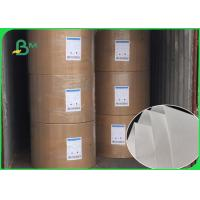 24GSM 28GSM Nature White Glassine Paper , Two Side Coated Glassine Wrapping Paper for sale