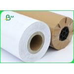 FSC Certified 70gsm 80gsm CAD Inkjet Plotter Paper Roll Size A1 A0 For Drawing for sale