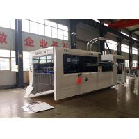 Speed 5000 Sheets / h  Automatic Feeder Die Cutting And Creasing Machine For Cardboard for sale