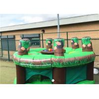 School Training Inflatable Sports Games / Blow Up Whack A Mole for sale