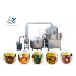 China Low Temperature Vacuum Frying Machine , Continuous Vacuum Fryer for sale