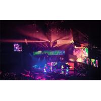 China P4 Led Stage Screen Rental , High Contrast Smd Led Panel Live Show 1/16 Scan supplier