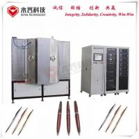 Luxury Pens PVD Gold Plating Machine , IPG Gold Jewelry Vacuum Coating Unit for sale