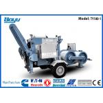 China 325hp 190KN Stringing Hydraulic Cable Laying Puller Transmission Line Stringing Equipment for sale