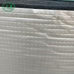 Back Aluminum Foil 100kg/M3 Foam Rubber Sheet Heat Insulation for sale