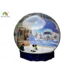 Human Size Inflatable Snow Ball Clear 0.8 mm PVC  Globe Photo Taking EN14960 for sale
