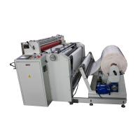 China precision paper roll to sheet cutting machine with slitting function for sale