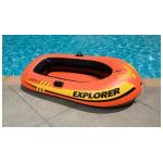 Summer Days Rigid Inflatable Ferry Barge Rubber Dinghy With Friends for sale