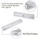 White Color Wireless Led Motion Sensor Light Usb Led Light Bar Energy Saving for sale