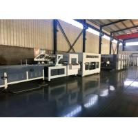 Alloy Steel Corrugated Paperboard Flexo Printing Slotting Machine / With Folder And Gluer Bundling Machine for sale