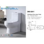 Colorful one piece Washdown Toilet , Single Piece Toilet 680*380*730mm Size for sale
