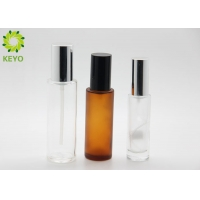 Clear 30ml Face Mist Glass Sprayer Bottle Foundation Cosmetics Packing Pump Bottle for sale