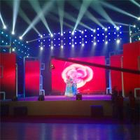 Indoor Full Color Smd Led Display Screen P3 160 Degree Angle With Front Service for sale