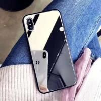 China Beautiful Smartphone Mirror Phone Case Mobile Phone Accessories For Iphone X for sale