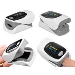 Outlet Color Digital Finger Pulse Oximeter OLED Screen Display Low Battery Indicator for sale