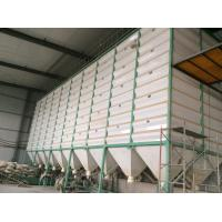 China Knock-down Wet Silo for paddy holding bin with galvanized steel sheet for sale