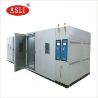 China Walk - In Climate Rigid Test Chamer Rooms Simulated High Or Low Temparature And Humidity Testing manufacturer