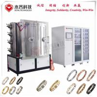 Gold PVD Metal Vacuum Coating Services For Stainless Steel Stretch Bracelet for sale