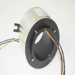 Large inner bore slip ring with 120mm,Stainless steel housing,used for military applications,material transfer equipment