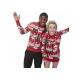 China Cute Couples Christmas Sweaters , Funny Christmas Jumpers Jacquard Design for sale