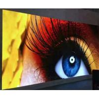 China Full Color Advertising LED Display Screen , SMD LED Video Wall Wide Viewing Angle for sale