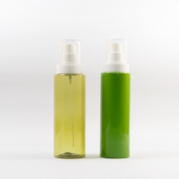Customized Color 100ml/120ml/150ml/200ml/230ml Plastic Cosmetic Bottle with Sprayer for sale