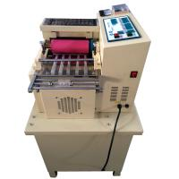 Elastic band, webbing, safety belt, luggage belt cutting machine for sale