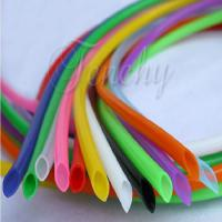 China Odorless High Temp Silicone Tubing Food Grade Round Shaped For Medical Devices supplier
