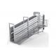 Portable Cattle Loading Ramp Non Slip Walkway Anti Corrosion Finish for sale