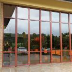 Hot Folding Partition Walls With Door Sliding Partition Glass Wall for sale
