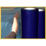 China Blue Color Surface Shields Window Protection Film In Different Size for sale