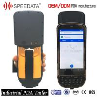 China 5 Gps Industrial Outdoor Phone Uhf Rfid Handheld Reader For Car Transportation Tracking for sale