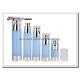Clear Plastic Airless Pump Bottles Containers , Empty Cosmetic Containers for sale