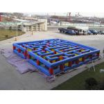Inflatable Tunnel Maze Game, Inflatable Maze Field For Chilren for sale