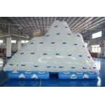 Commercial Inflatable Water Iceberg / Inflatable Aqua Iceberg For Lake for sale