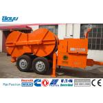 China Hydraulic Cable Tensioner Diesel 130hp Hydraulic Tensioner Max Tension: 1x160 KN for sale